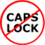 With CapsLock control its very easy to alert user when he/she was typing with the CapsLock key activated